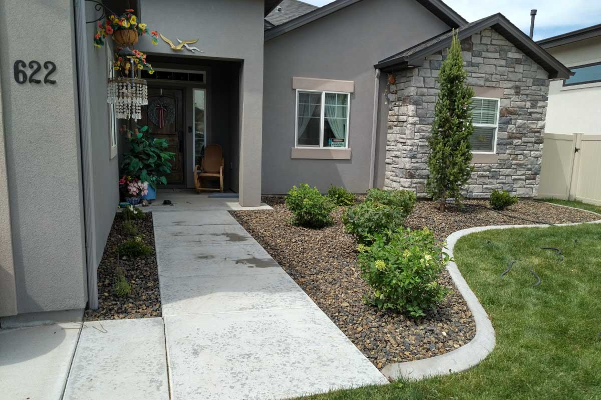 Premier Tree Low Maintenance Landscape Design in Boise
